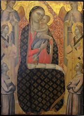 """Avignon (Vaucluse) - Musée du Petit Palais - """"La Vierge de Majesté entourée de six anges"""" (Francescuccio Ghissi, 2ième moitié du XIVe) (Morio60) Tags: avignon vaucluse 84 provence unesco musée petitpalais"""