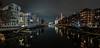 Night view (Frank Siebach) Tags: frankfurt westhafen longexposure panorama night lights river city