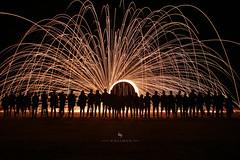 Silhouette Identities (hisalman) Tags: people silhouette fire steelwool steelwoolphotography group outdoor night longexposure hisalman hisalmanphotography salmanahmed