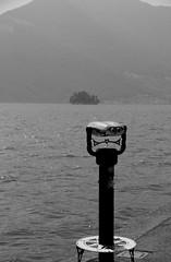 Iseo Lake (pjarc) Tags: europe europa italy italia lombardia brescia iseo lago lake cannocchiale isola island acqua water montagna mountain foto photo bw digital nikon dx 2017