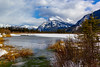 Winter at the lake (begineerphotos) Tags: vermilionlake lake ice snow mountain hotspring water tree grass trees bush banffnationalpark alberta