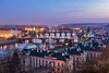 Praha ! (Hany Mahmoud) Tags: prague czech travel landscape cityscape dusk bluehour explore europe nikon river goldenhour bridges charlesbridge