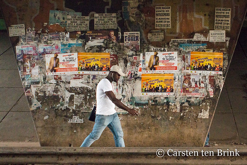 The Abidjan walk