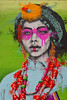 Urban Nation Woman (Marco Braun) Tags: black schwarz weiss white blanche noire walart streetart urbanart graffit berlin 2017 urbannation kopf head coloured colourful farbig bunt frau woman femme mutter mother monalisa deutschlandgermanyallemangne