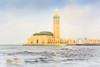 Hassan II Mosque (Laszlo Horvath.) Tags: morocco marocco marokko casablanca mosque nikon ocean hassan ii sunset nikond7100 nikon50mmf18g