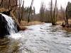 Immer noch ganz schön trostlos dieser Frühling (Antje_Neufing) Tags: frühling 2018 trostlos ruwer wasser fluss rheinlandpfalz landschaft wasserfall einsam allein natur