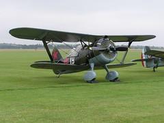 Polikarpov I-15 (Pentakrom) Tags: duxford flying legends 2005 polikarpov i15