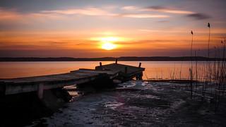 Broken Pier Sunrise