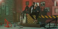 #990-LOS-PAPUS (Zeva Style) Tags: events mancave skinfair tmd hipstermensevent stores catwa straydog ascend mgmens versov badunicorn thor foxcity bento sl secondlife cool friends mens backdrop