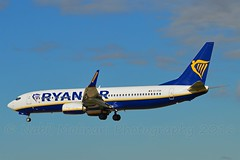Ryanair EI-FOR Boeing 737-8AS Winglets cn/44718-5795 @ LEBL / BCN 07-11-2016 (Nabil Molinari Photography) Tags: ryanair eifor boeing 7378as winglets cn447185795 lebl bcn 07112016