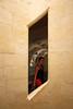 finestra (maxlancio) Tags: francia france castello chambord finestra muro ragazza scalinata rombo geometrico geometria loira