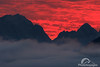 CT9A9842 (PhVoyages) Tags: karwendel alps mountains sunset sunrise inversion clouds colours fullmoon outdoor hiking