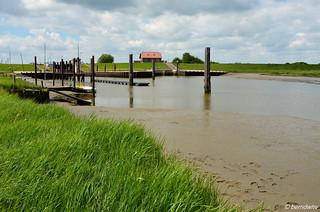 An der Vareler Schleuse (1) / Landkreis Friesland
