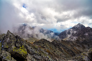 On the top of the Tatras