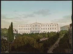 Η Βουλή των Ελλήνων. (Giannis Giannakitsas) Tags: αθηνα athens athenes athen greece grece griechenland βουλη των ελληνων 1900