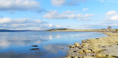 Beautiful Day, Allanfearn Bay, Inverness, Mar 2018 (allanmaciver) Tags: allanfearn alturlie bay water blue clouds inverness highlands scotland green walk enjoy outdoors allanmaciver
