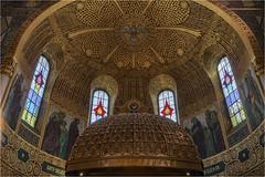 Herz Jesu Kirche (Robbi Metz) Tags: deutschland germany bayern bavaria herzjesukirche augsburg pfersee church indoor jugendstil art colors canoneos