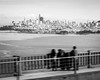 (Szymon Nakoneczny) Tags: sanfrancisco goldengate blackandwhite monochrome city view bridge sea people skyscrapers