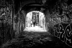 Lisbon Streetwalk (ThorstenKoch) Tags: street streetphotography schatten stadt strasse shadow schwarzweiss city candit blackwhite bnw monochrome men cat pov photography people photographer picture pattern portugal outdoor lissabon lisboa lisbon urban fuji fujifilm thorstenkoch