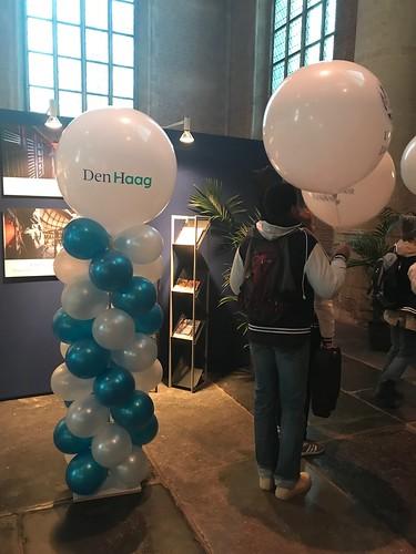 Ballonpilaar Breed Rond Pieterskerk Leiden