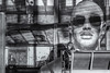 "The guys around... (michael_hamburg69) Tags: madrid comunidaddemadrid spanien es spain españa espagne flughafen airport madridbarajas adolfosuárez""aeropuerto adolfo suárez mad terminal man guy girl sitting waiting plakat wartehalle monochrome streetphotography"