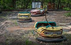 Radioactive dodgems (probably) (802701) Tags: chernobyl chernobylexclusionzone pripyat ukraine abandoned abandonedbuildings creepy eerie nature nuclear при́пять чорнобиль