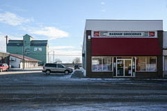 Bashaw. (Marie-Laure Even) Tags: 2017 alberta amériquedunord bashaw building campagne canada countryside december décembre hiver marielaureeven matin morning neige nikond7100 northamerica prairies roadtrip snow street travel village voyage winter