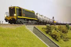 SNCF AIA AIA 62030 (hans.hirsch) Tags: sncf aia 62030 62000 mabar h0 ho 187 makette wagon citerne diesel marchandises train locomotive oel oil güterzug tankwagen zisternen wagen lok zug