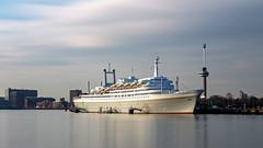 SS Rotterdam (R. Engelsman) Tags: ssrotterdam rotterdam cruiseship passengership ship vessel schip netherlands nederland nl gobe nd1000 le water sky boat longexposure euromast 1740l 10stops eos holland canonnl 010