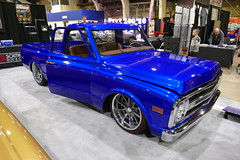 Best Truck & Stitch of Excellence award (bballchico) Tags: grandnationalroadstershow carshow awardwinner besttruckaward stitchofexcellenceaward seanprovost 1970 chevrolet c10 pickuptruck