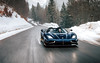 Roof Off Weather. (Alex Penfold) Tags: koenigsegg agera rs naraya supercars supercar super car cars autos alex penfold 2018 france snow blue carbon gold