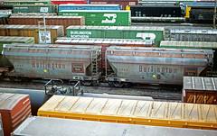 CB&Q Class LO-7 184006 (Chuck Zeiler) Tags: cbq class lo7 184006 burlington railroad covered hopper freight car cicero train chuckzeiler chz