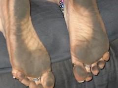 2257897330098220273tzfaeu_ph (paulswentkowski1983) Tags: dirty feet soles pitch black street filthy female calloused