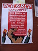 Royal Communist Party (knightbefore_99) Tags: rcp royal communist party red power basics lenin rouge poster art awesome vancouver politics left vpl library meeting