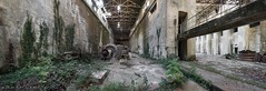 Turbine Hall (Graceful Decay) Tags: abandoned abbandonato architecture building canon decay decayed derelict deserted eos forgotten forsaken gracefuldecay green hall industry industrial italia italy kraftwerk lost metal old panorama powerplant rust turbine urbex vergessen verlassen
