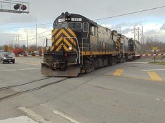 DSC02407 (mistersnoozer) Tags: shortline railroad lal c425 locomotive train