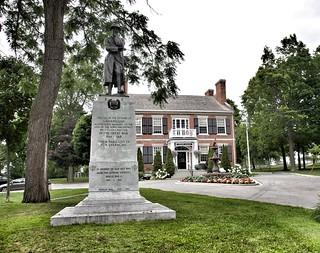 Gananoque Ontario -  Canada - Historic Town Hall - Heritage