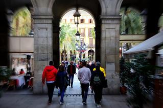 Plaça Reial (entry/entrada/είσοδος)