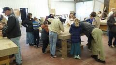 Junior Wildlife Club Building Birdhouses