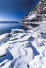 In the grips of winter (Sizun Eye) Tags: winter ice snow fjord sun water landscape scenery winterscenery norway alta arctic north northern shore sizuneye nikond750 nikon1424mmf28 1424mm nikkor1424mmf28 nikkor nikon leefilters nisifilters le longexposure poselongue russeluft finnmark finnmarkcounty norvège