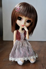 miyoung (uglycherries) Tags: pullip doll dolls princess ann groove miyoung rewigged wig obitsu brown roman holiday