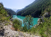 Barrage et lac de Pont-Baldy (Livith Muse) Tags: barrage arbre lac eau montagne briançon provencealpescôtedazur france fra lumixgvario714f40 panasonic714mmf40 panasonic gx7 alpes bleu vert pontbaldy pont baldy cerveyrette lumix grandangle wideangle dam