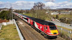 43310 1E17 Inverness - Kings X at Stirling (37001) Tags: hst virgin trains virgintrains virgineastcoast eastcoast london kingscross inverness aberdeen 43310 1e17