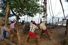 Fishing Nets P1250725 (Phil @ Delfryn Design) Tags: india2018 kochi
