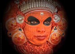 THOSE DIVINE EYES !! (GOPAN G. NAIR [ GOPS Photography ]) Tags: gopsorg gopangnair gops gopsphotography gopan photography theyyam stare eyes demigod spiritual hindu kerala malabar