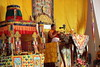 H.H. Sakya Trizin's Visit (Sakya Monastery of Tibetan Buddhism, Seattle, USA) Tags: sakyamonastery sakya sakyatrizin sakypa sakyamonasteryoftibetanbuddhism tibetan tibetanbuddhism monk lama guru blessing teaching spiritual horns music red gold yellow monastery ceremony love kindness compassion buddha buddhism buddhist pray prayer religion religious service temple church gompa seattle washingtonstate washington greenwood dance robe kata offering
