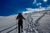 Near the sky (Alessandro Iaquinta) Tags: landscape picoftheday sky mountain wideangle snow trekking friends colours tamron