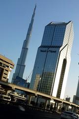 Burj Khalifa through the windshield (posterboy2007) Tags: burjkhalifa uae dubai building architecture