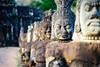 DSC00214 (Ronni Steen Hansen) Tags: red sony a7ii fe carl zeiss batis 85mm f18 18 warriors statues angkor