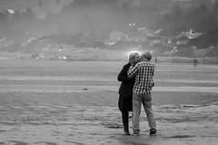 Love (RaminN) Tags: oregon manzanita pacificnorthwest beach kissing couple love